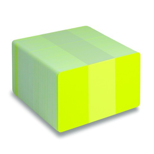 Fluorescent Yellow Cards