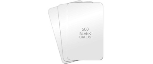 Poly/PVC Composite Cards - 500 Cards