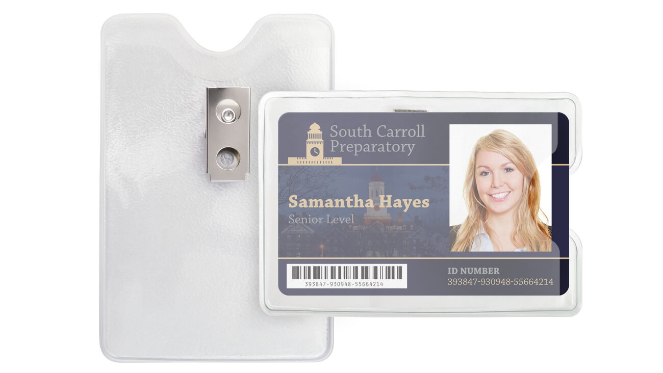 Clip-On Badge Holders – Pack of 100