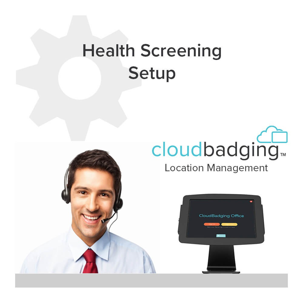 Cloud Badging Location Management Software