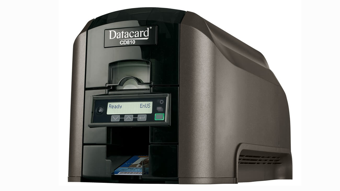 Datacard CD810 ID Card Printer