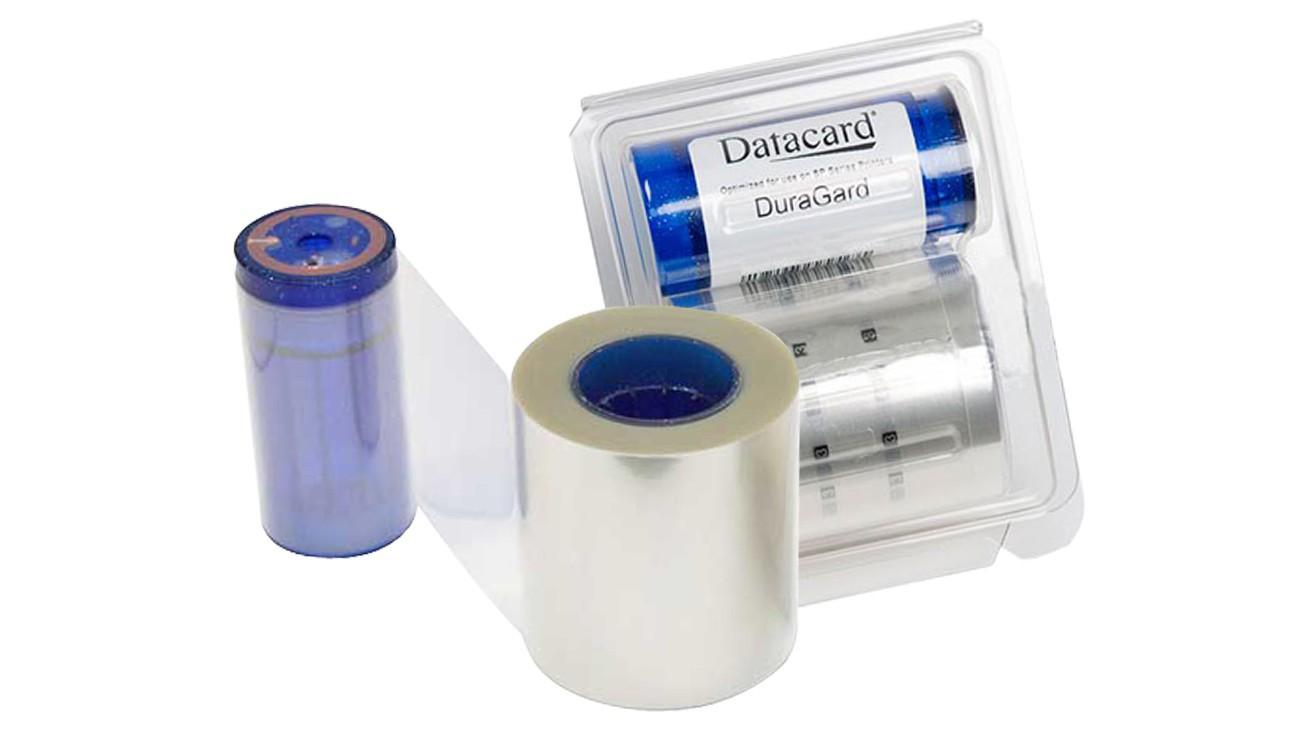 Datacard 514910-501 DuraGard 1.0 mil Clear Laminate - Full Card
