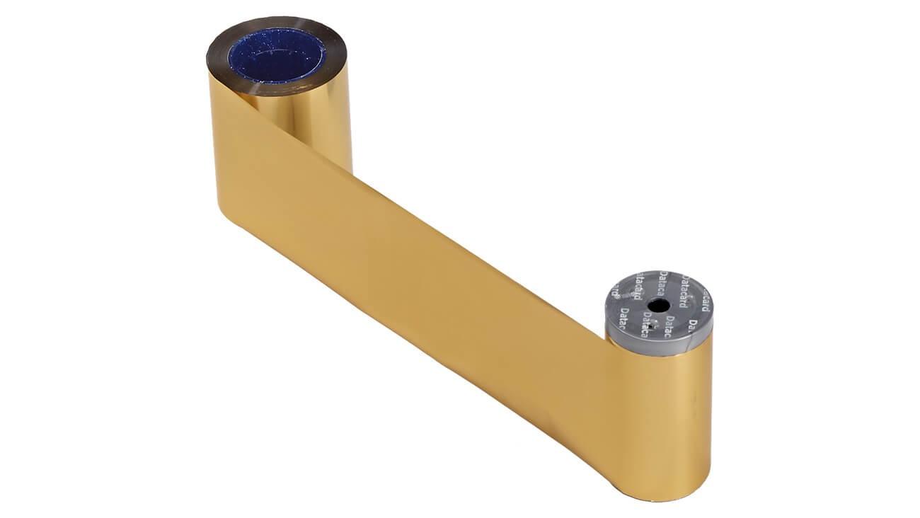 Datacard 532000-007 Monochrome Gold Ribbon