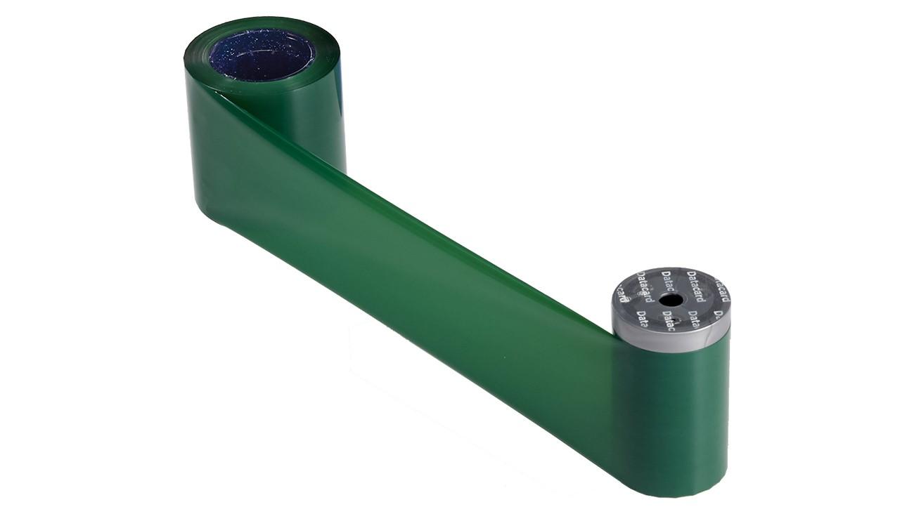 Datacard 532000-008 Monochrome Green Ribbon