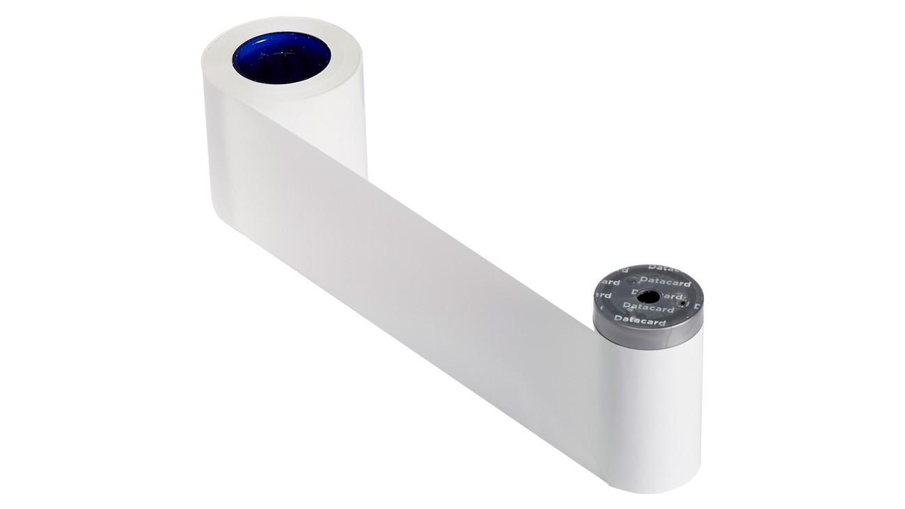 Entrust Datacard 532000-004 Monochrome White Ribbon
