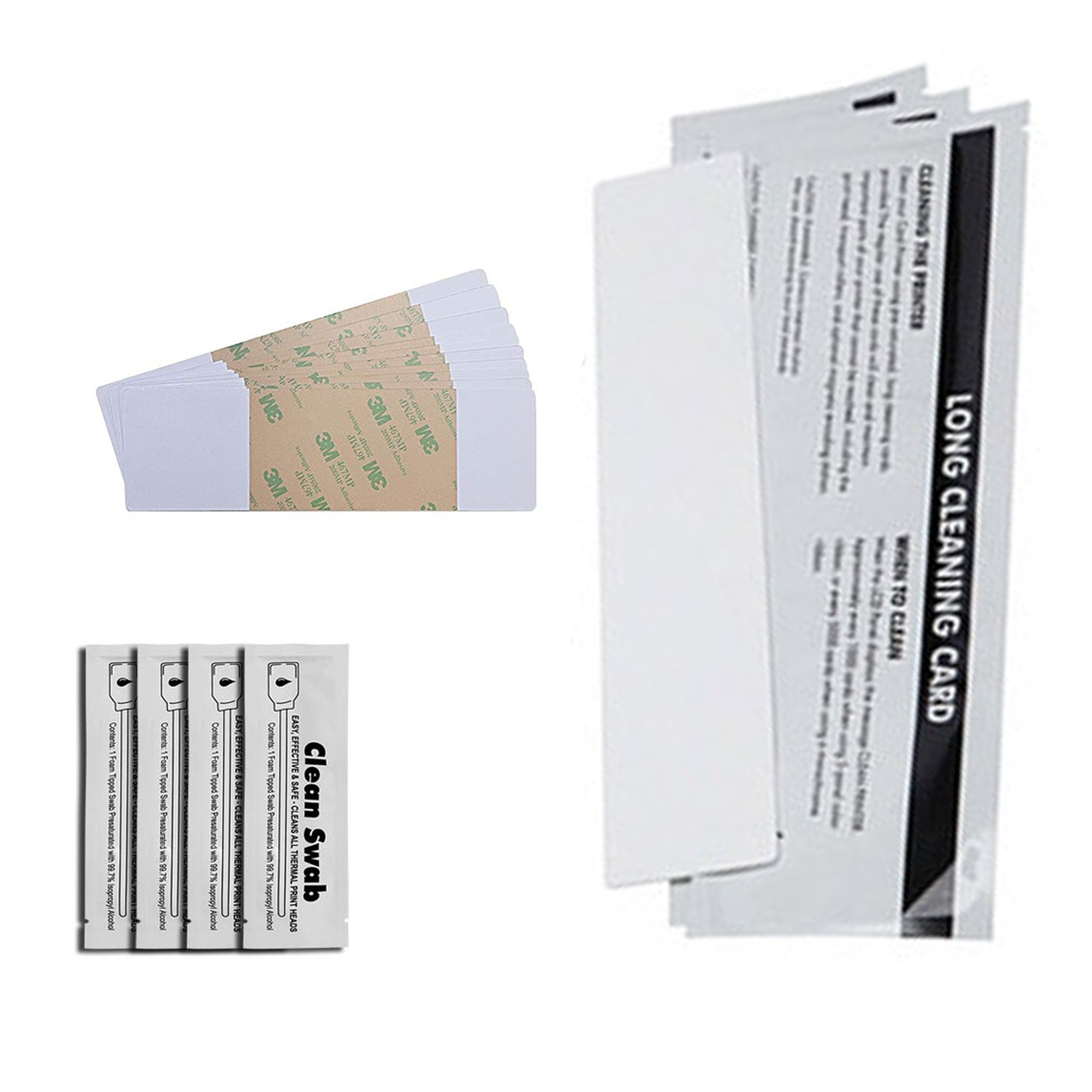 DuraClean™ 86177 Complete Printer Cleaning Kit for Fargo Printers - Cleaning Cards & Swabs