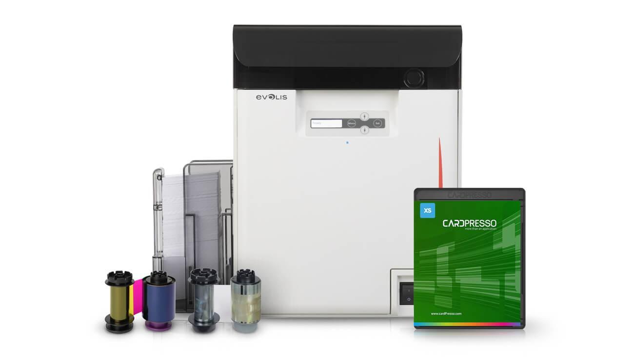 Evolis Avansia Printer, Ribbon & Software Bundle