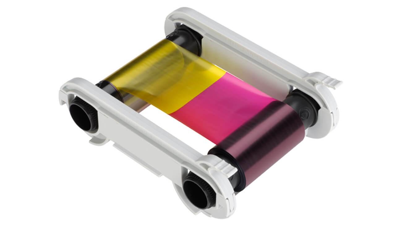 Evolis R5F008MD06 YMCKO Ribbon - 300 Prints