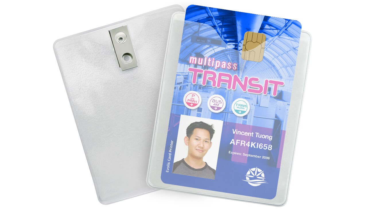 Extra Large Clip-On Badge Holders – Pack of 100