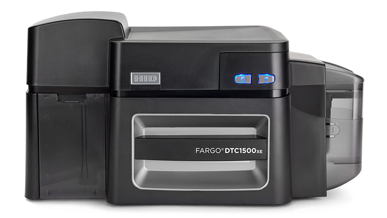 Fargo DTC1500XE ID Card Printer 70001