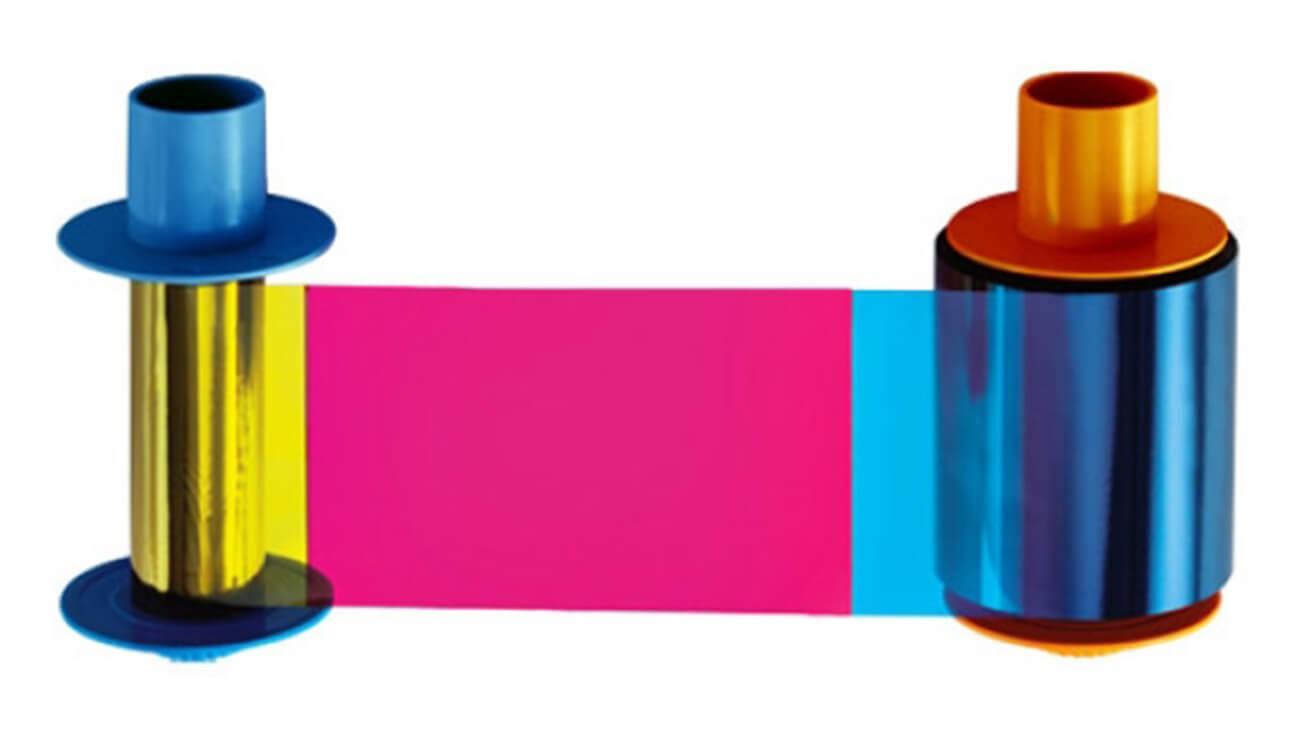 Half Panel YMCKOKO Ribbon - 500 Prints