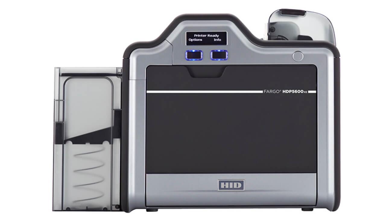 Fargo HDP5600XE Reverse Transfer ID Card Printer