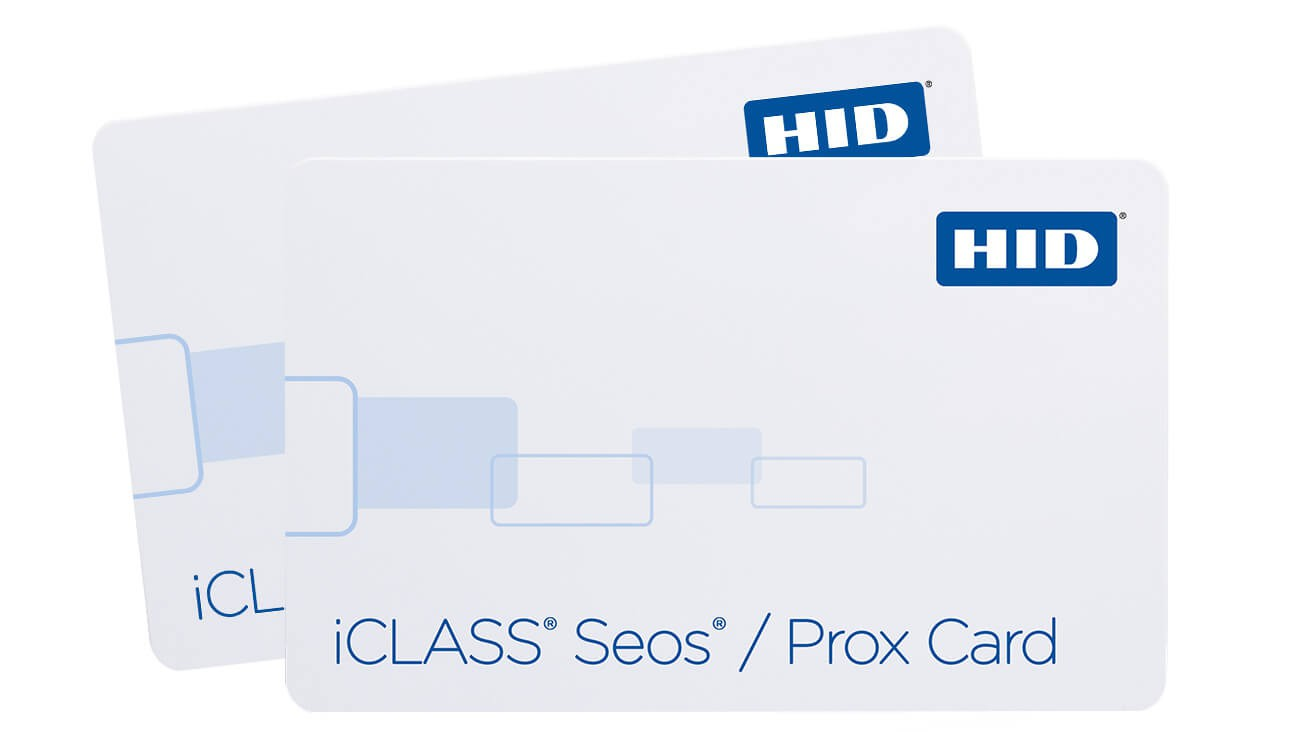 HID iClass Seos Card with Prox