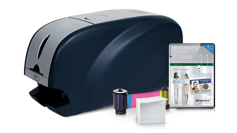 IDP SOLID-310SE ID Card Printer Bundle
