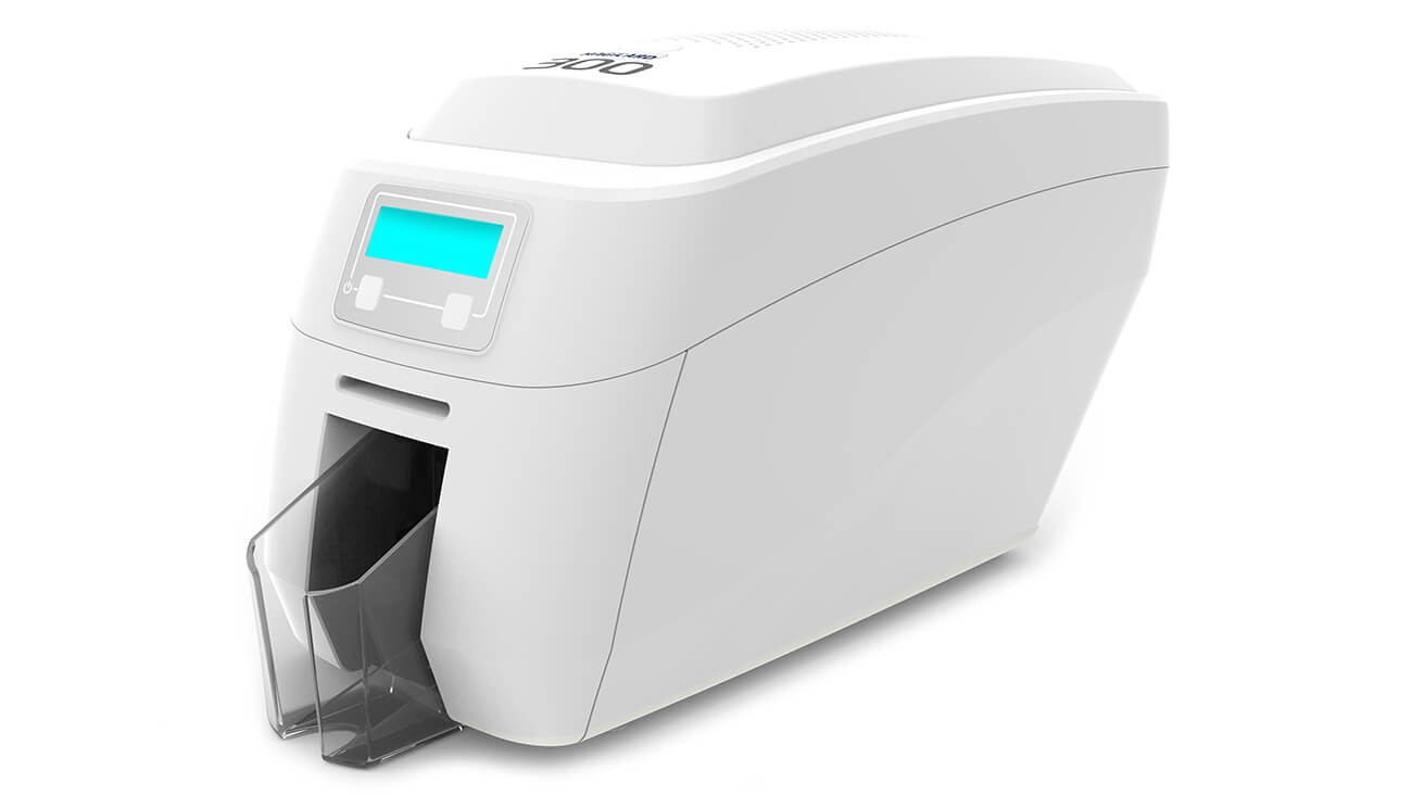 Magicard 300 Single-Sided ID Card Printer with Mag Encoding and Smart Card Encoding