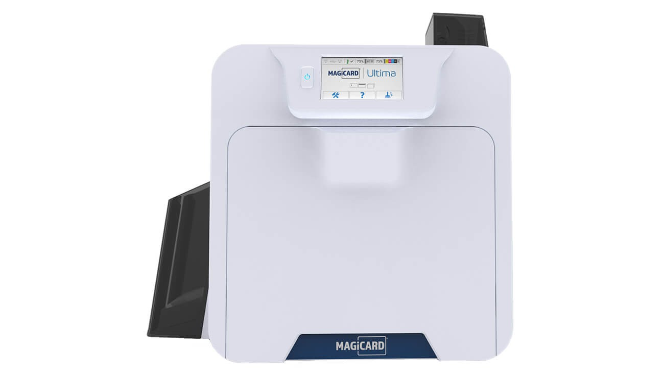 Magicard Ultima Single-Sided ID Card Printer with Mag Encoding and Smart Chip Encoding