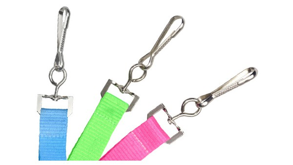 "Neon 5/8"" Breakaway Lanyard and Swivel Hook - 100 per pack"