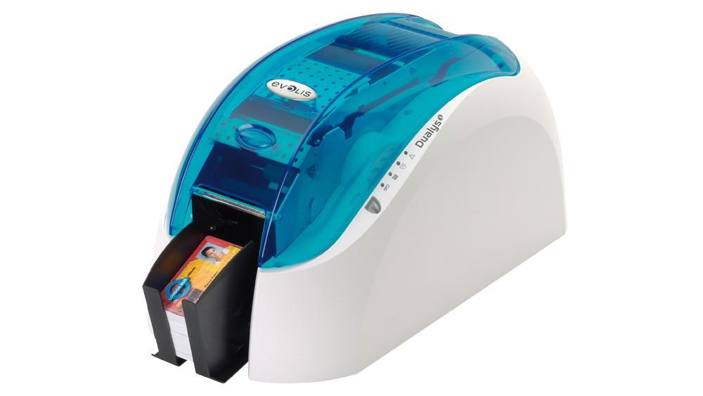 Dualys 3 ID Card Printer USB-Magnetic Encoding, ISO-USB