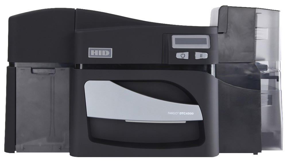 Fargo DTC4500 Dual Sided Direct-to-Card ID Card Printer