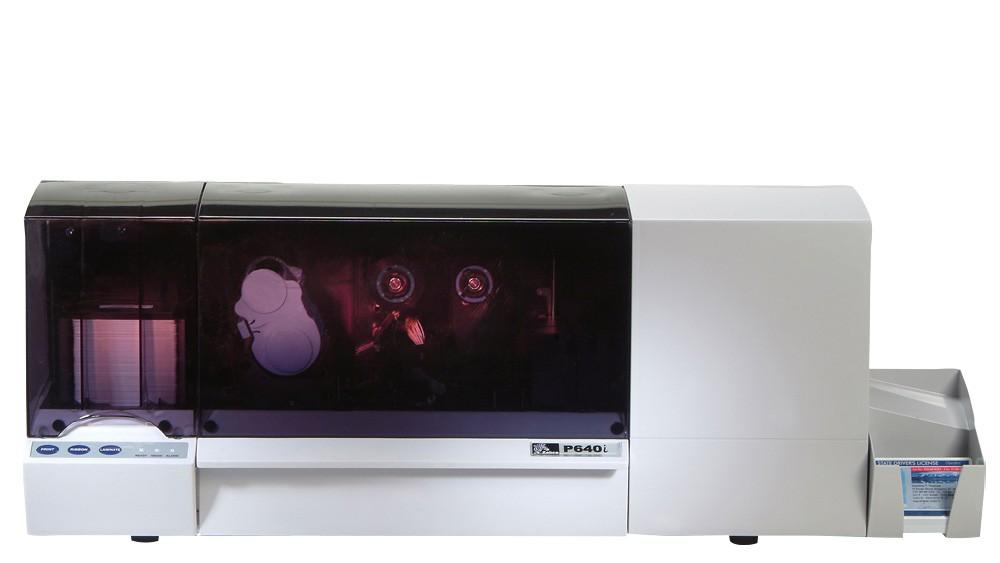 Zebra P640i Dual Sided ID Card Printer