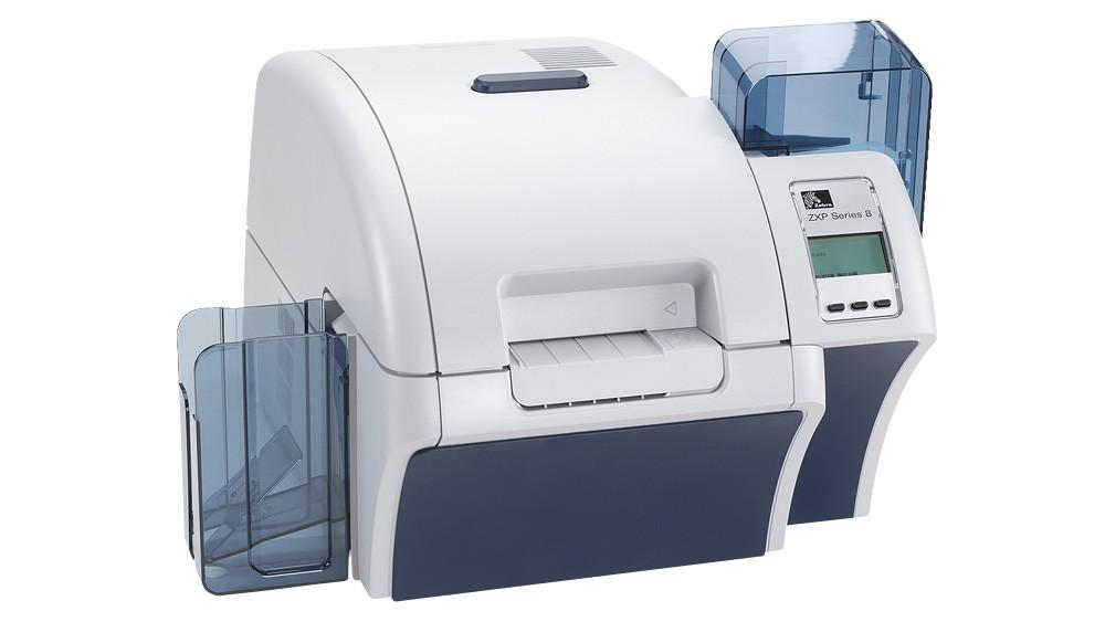 Zebra ZXP Series 8 Retransfer Single-Sided Card Printer