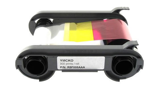 Evolis R5F008AAA Color Ribbon - YMCKO 300 Prints