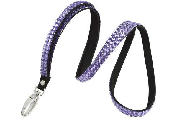 "Fashion 3/8"" Rhinestone Lanyards – Pack of 10"