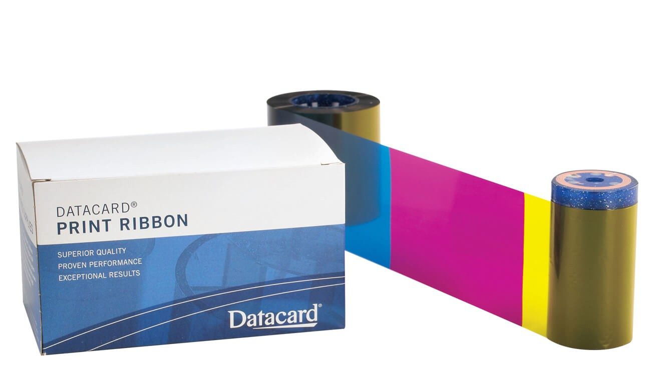 Entrust Datacard 534700-005-R010 YMCKT-KT Full Color Dual-Sided Printer Ribbon With Cleaning Kit