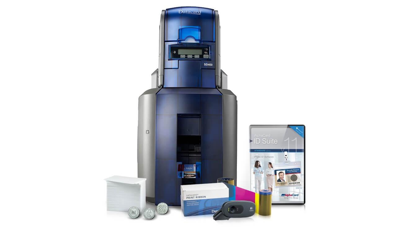 Datacard SD460 ID Laminating Card System w/Tactile Impressor