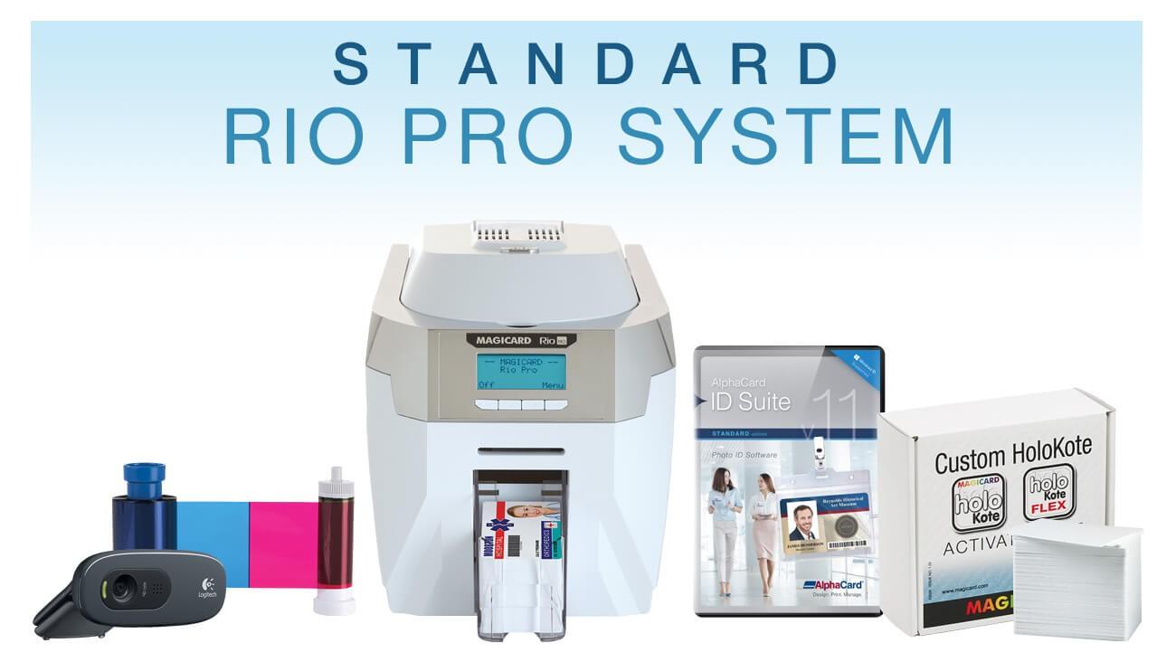 Standard Custom HoloKote ID Card System