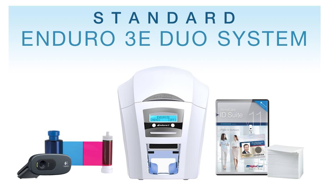 Standard Duplex HoloKote ID Card System