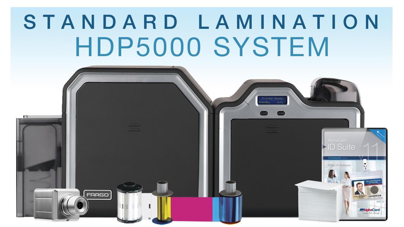 Standard HD Laminating ID Card System