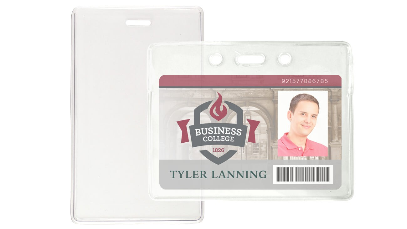 Standard Locking Badge Holders – Pack of 100