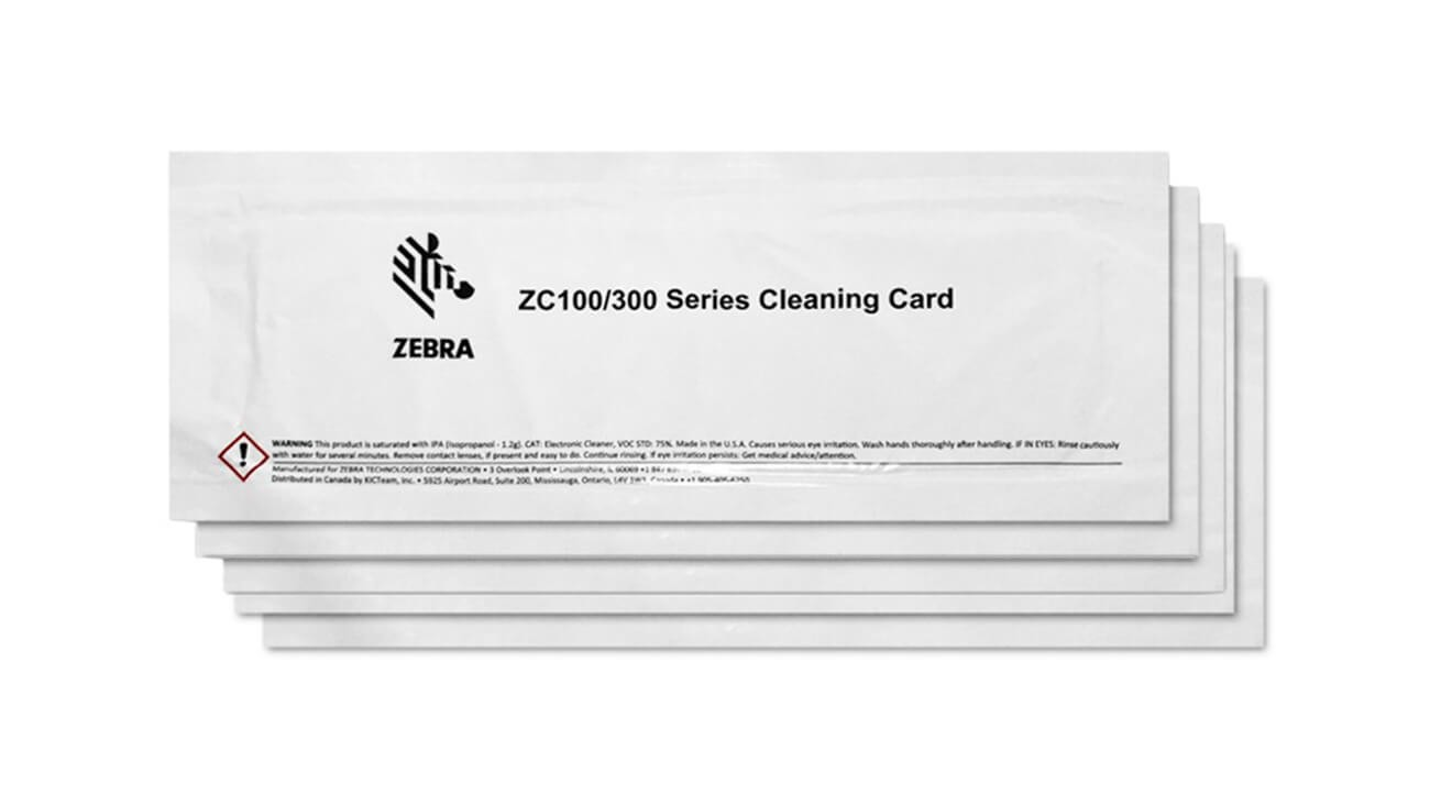 Zebra Cleaning Kit for ZC100/ZC300/ZC350 Series Printers