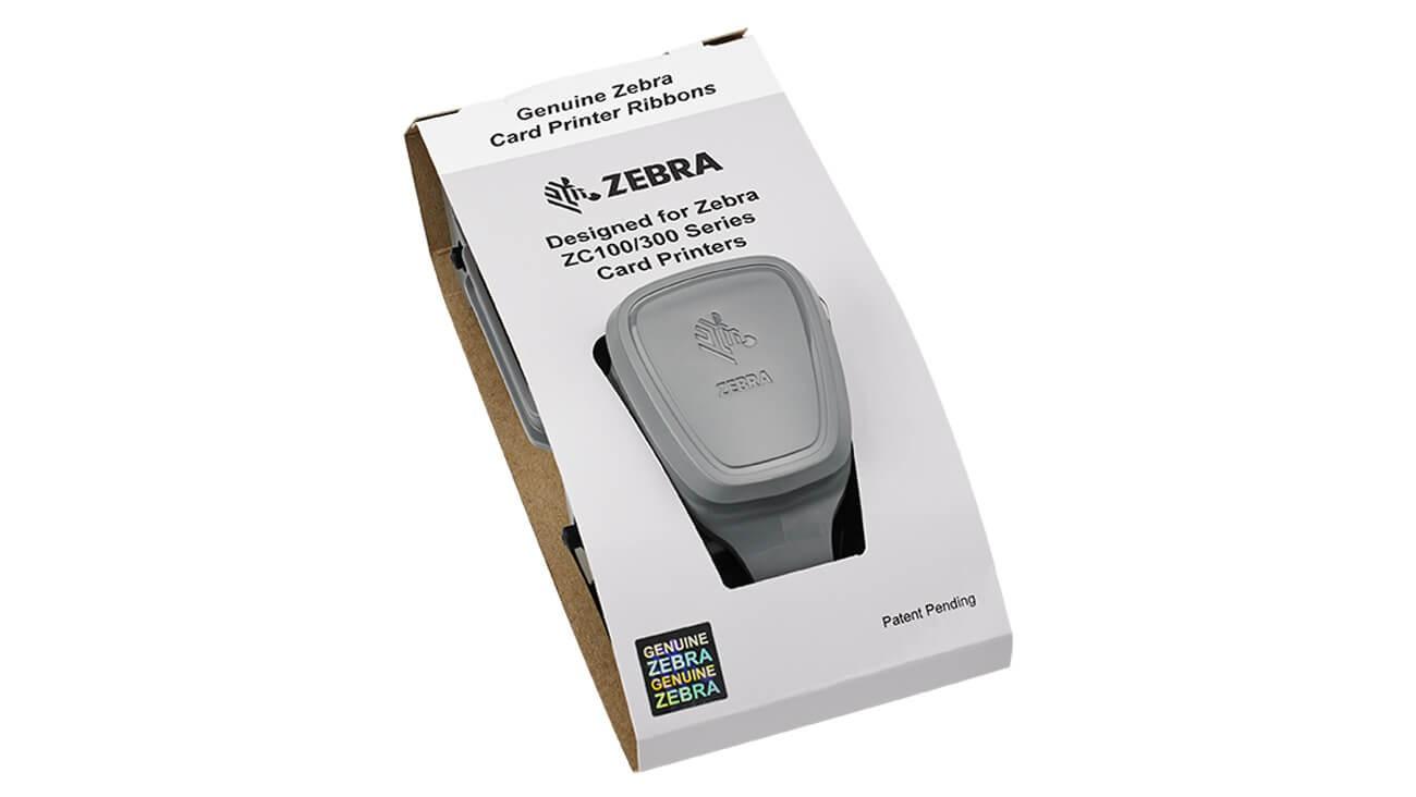Zebra 800350-301 Monochrome Black Ribbon - 2000 prints