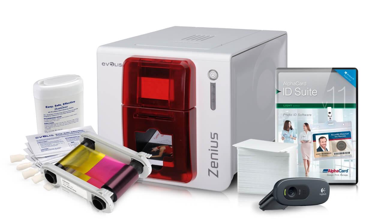 Evolis Zenius Expert ID Card System