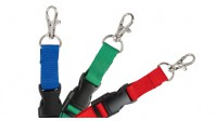 """Detachable 5/8"""" Microweave Lanyards – Pack of 100"""