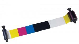Evolis Color Ribbon 5 Panel YMCKO - 500 prints
