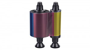 Evolis Color Ribbon 5 Panel YMCKO - 100 Prints