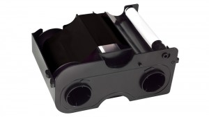 Fargo Premium Black Ribbon and Overlay DTC400 - 500 Prints