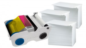 Printer Resupply Pack - 44230 Ribbon & PVC Cards