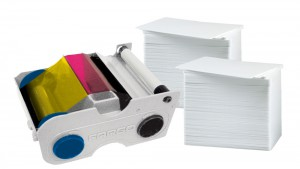 Printer Resupply Pack - 44210 Ribbon & PVC Cards