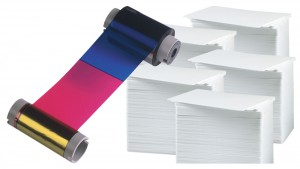Printer Resupply Pack - MA250YMCKOK Ribbon & PVC Cards
