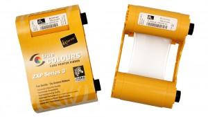 Zebra White ZXP Series 3 Ribbon - 850 Prints
