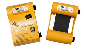 Zebra Black ZXP Series 3 High Capacity Ribbon - 2000 Prints