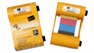 Zebra YMCKO ZXP Series 3 Color High Capacity Ribbon - 280 Prints