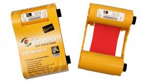 Zebra Red ZXP Series 3 Ribbon - 1000 Prints