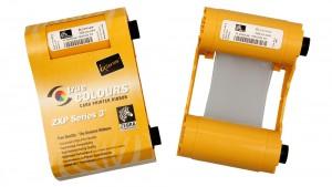 Zebra Silver ZXP Series 3 Ribbon - 1000 Prints