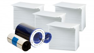 Printer Resupply Pack - 800015-540 Ribbon & PVC Cards
