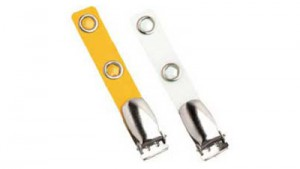Suspender Badge Clip - Color Strap - 100